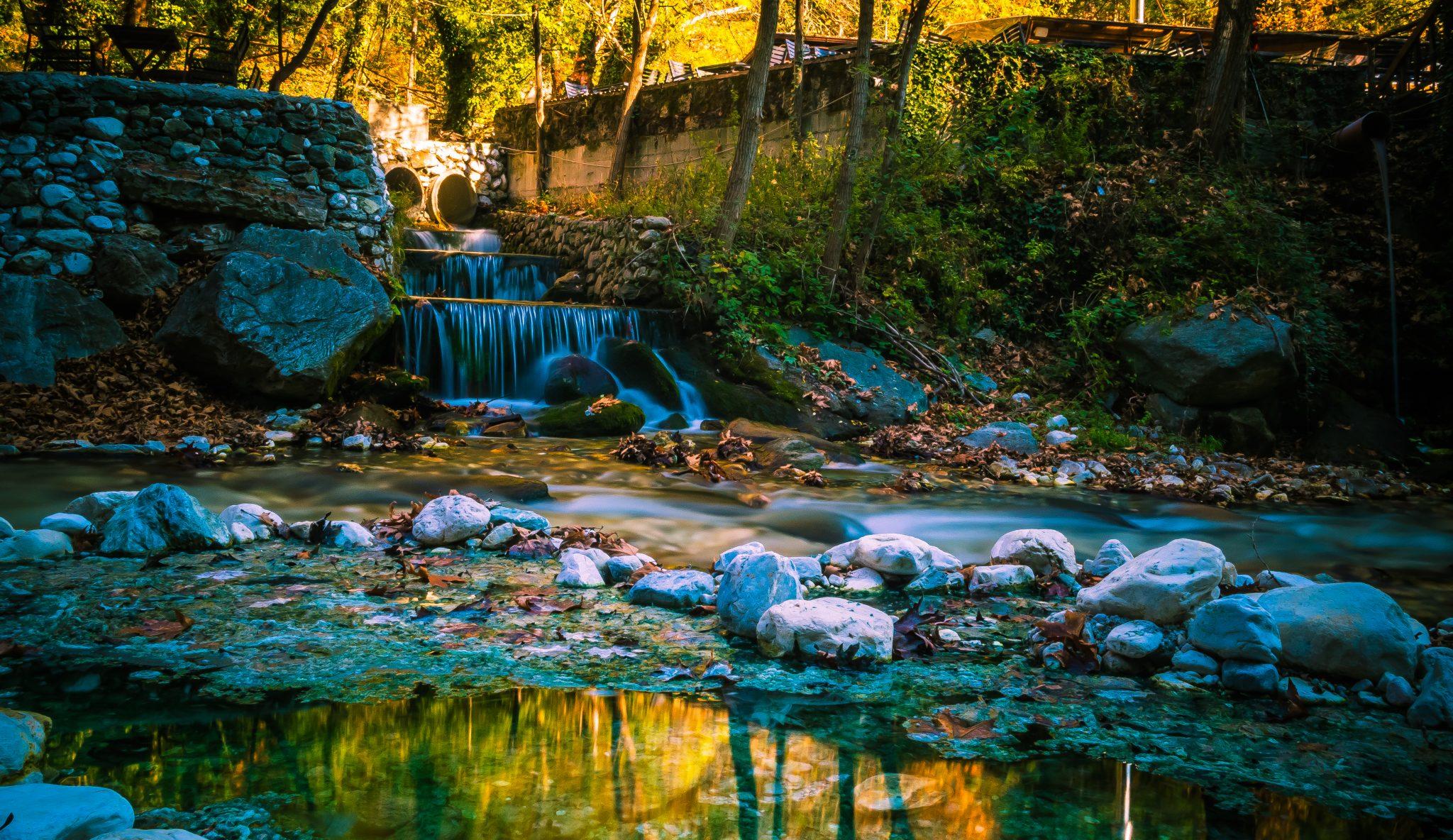 ποταμός λουτρά πόζαρ
