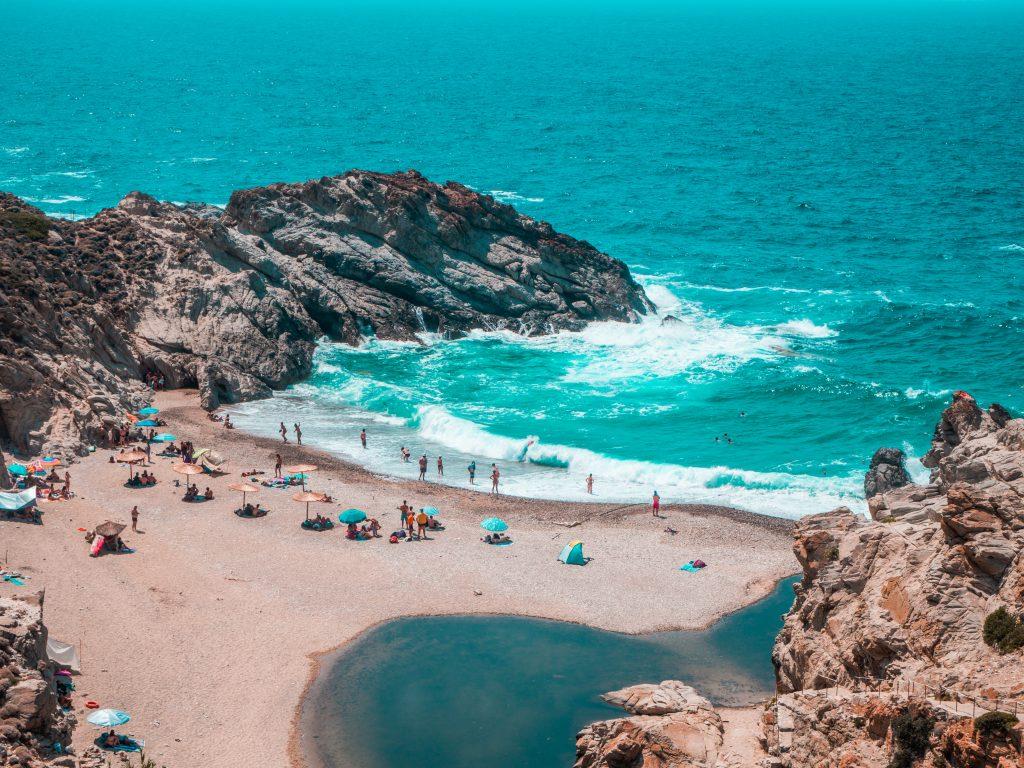 Ικαρία Νας παραλία