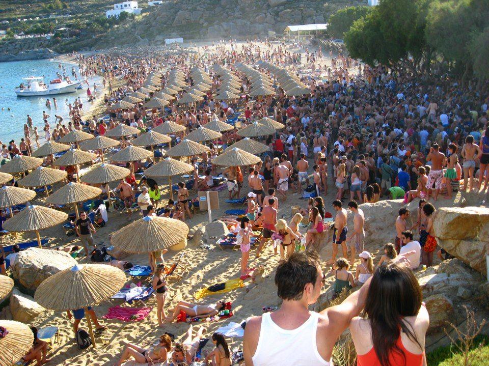 paradise beach party