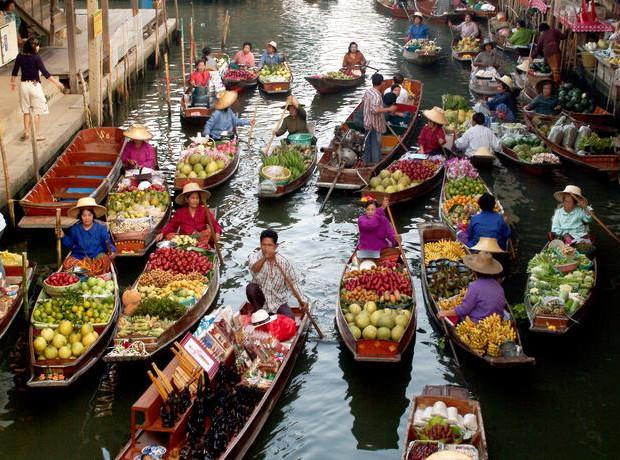 αγορα στην ταϋλανδη