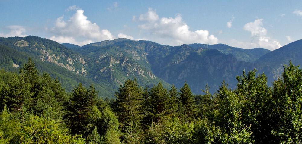οροσειρά ροδόπης