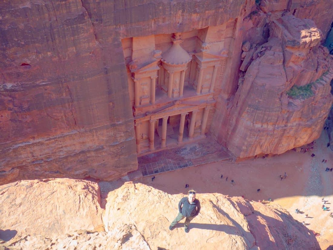 Ιορδανία θέα στο Θησαυροφυλάκιο