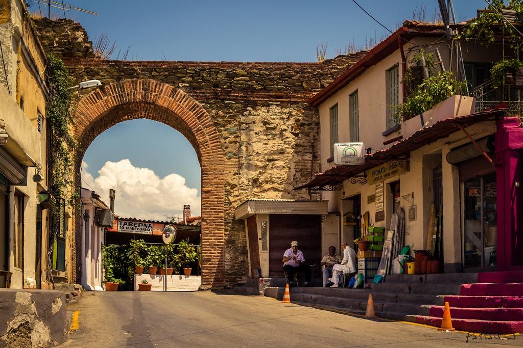 ανω πολη θεσσαλονικη