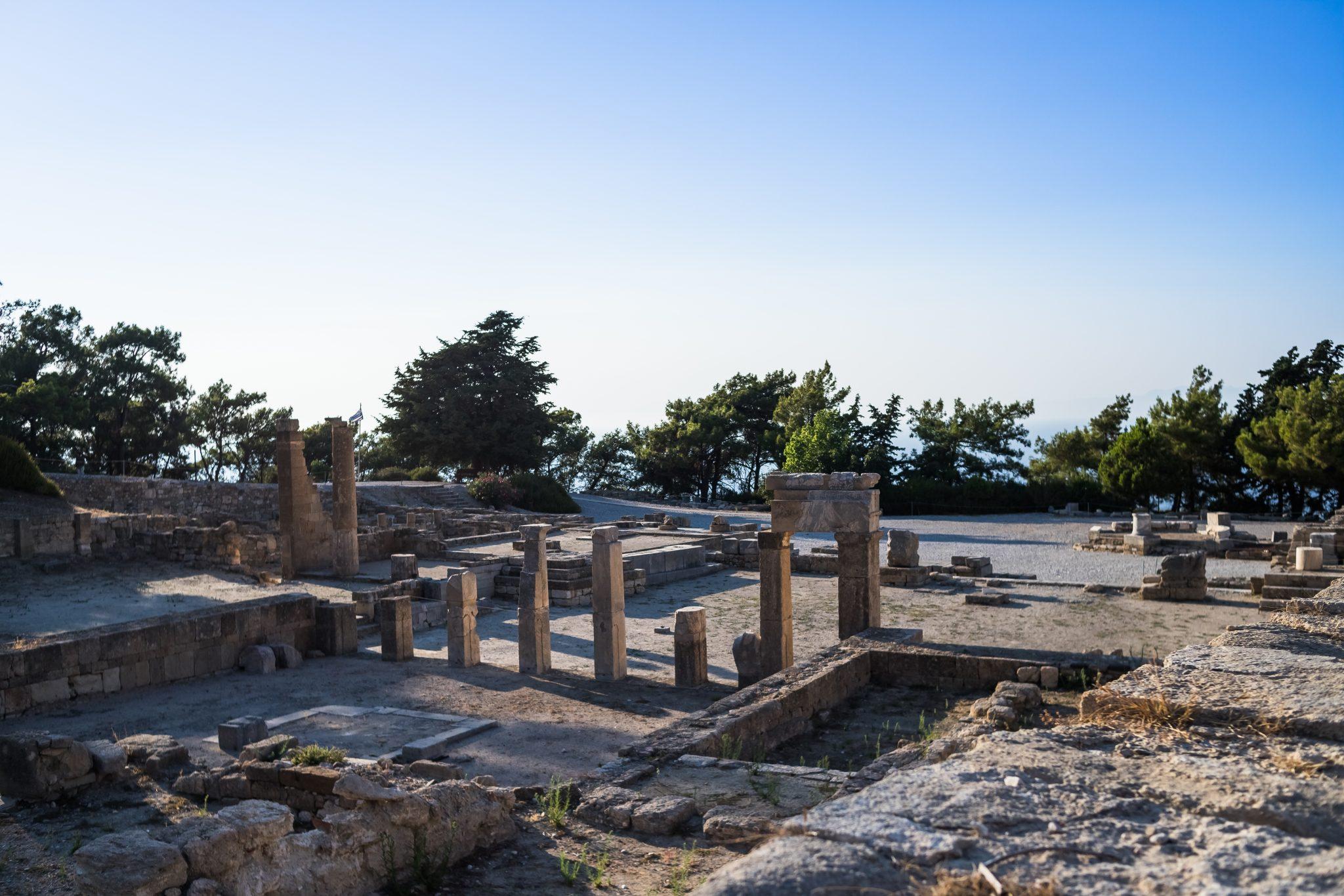 αρχαια στη Ρόδο